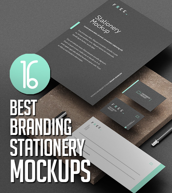 Best Branding Stationery MockUps – Professional Design
