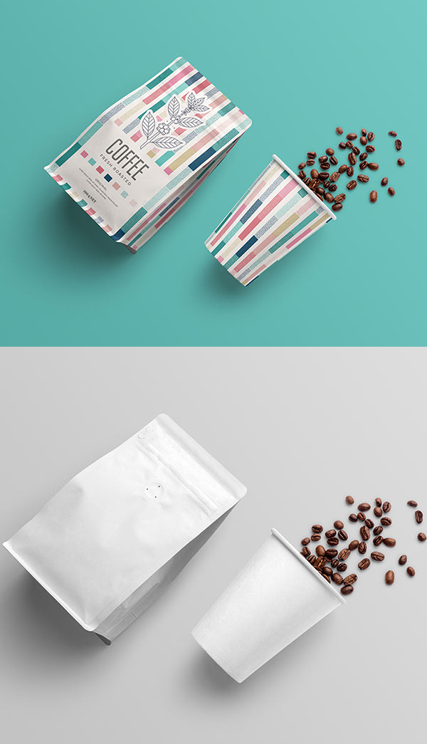 Free Packaging Mockup Template