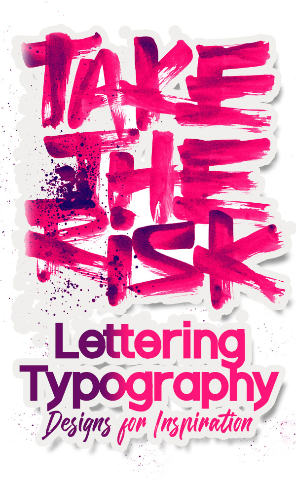 25 Remarkable Hand Lettering and Typography Designs