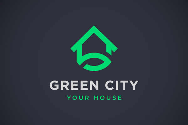 Green City Logo by Tistio