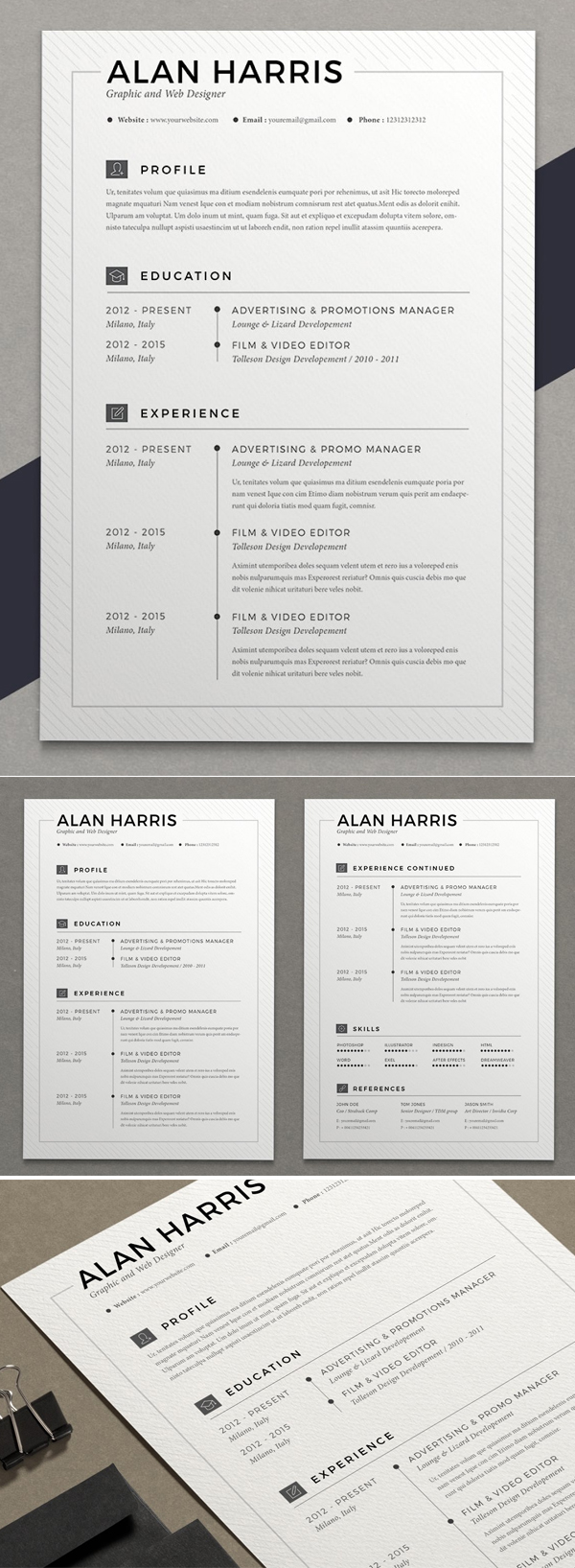 Resume Alan (2 pages)