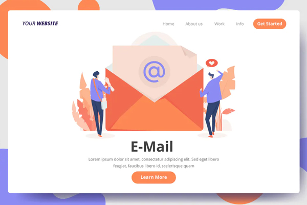 Creative E-Mail - Landing Page