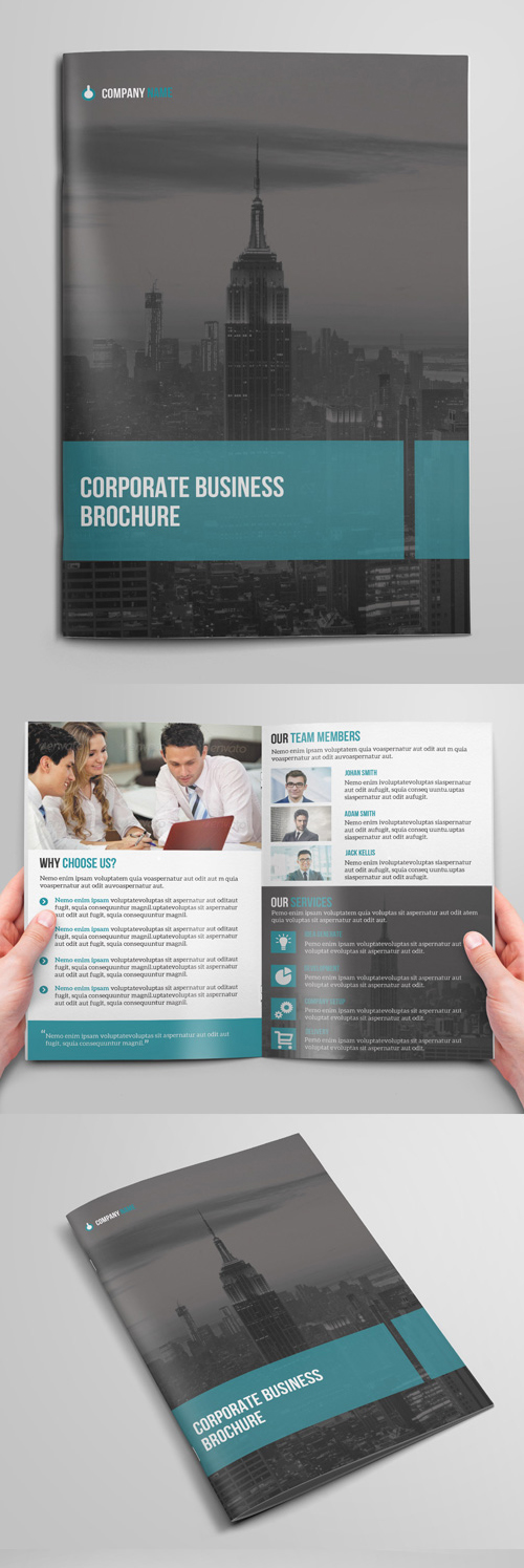 Brochure Design for Corporate Business