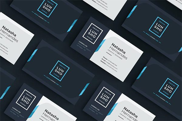 Lusho Business Card Design