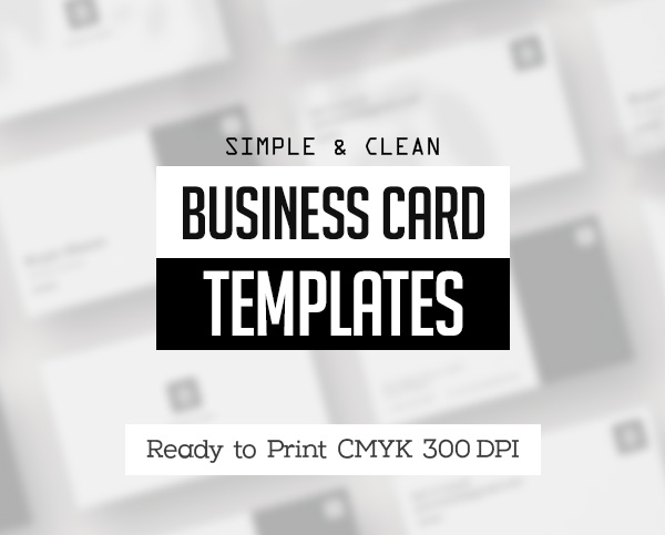 Business Cards Design: 34 Best Print Templates