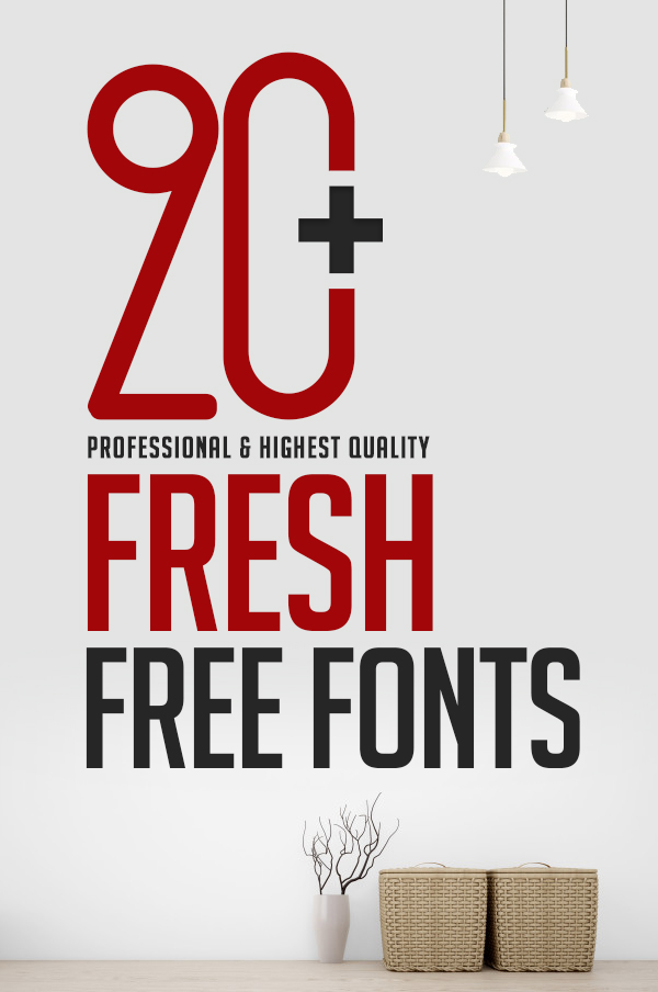 20+ Fresh Free Fonts For Graphic Designers