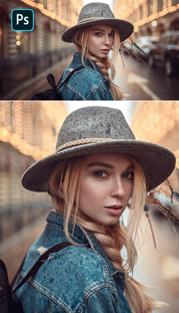 How to Improving Outdoor Portrait Experience in Photoshop Tutorial