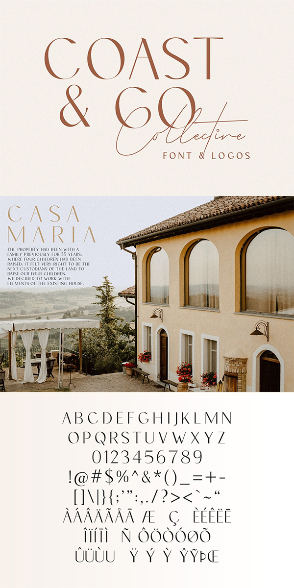 Coast & Co Font