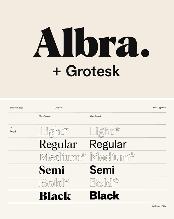 Albra Branding Collection