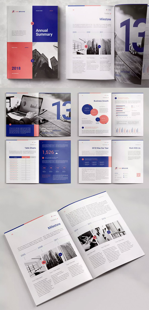 Best vAnnual Report Template