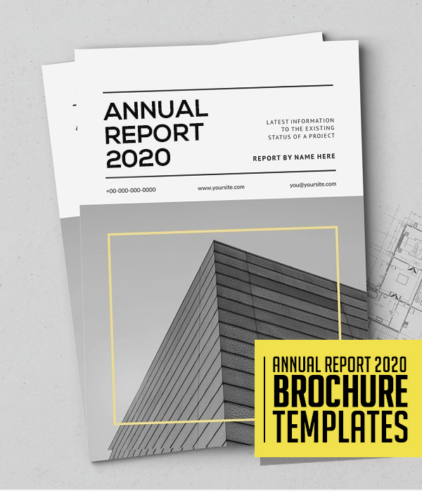 25 Professional Annual Report Brochure Templates Design