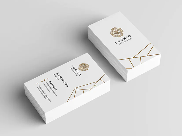 Simple Clean Business Card Design