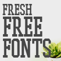 Post thumbnail of Download Fresh Free Fonts [20 Fonts]