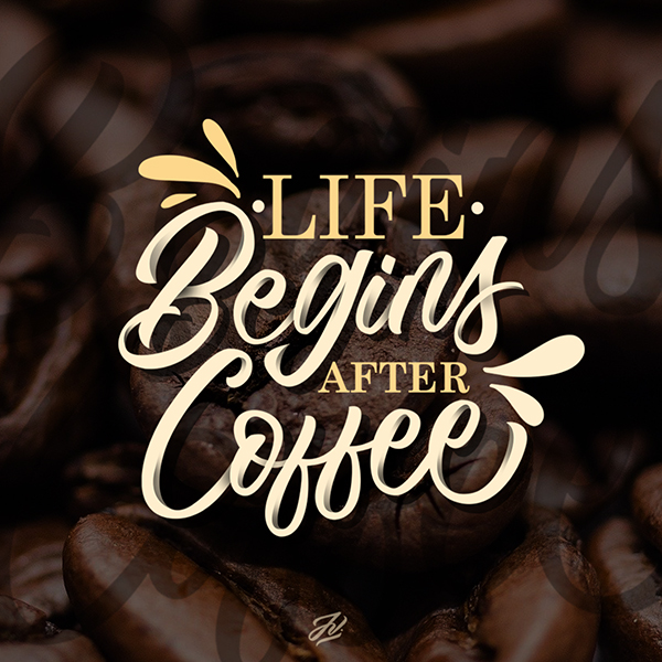 Life begin after Coffee by Jhun Villamor