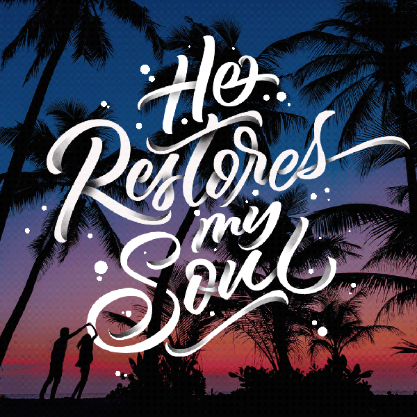 He restores my soul by Jhun Villamor