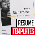 Post thumbnail of 15 Professional CV / Resume Templates Download