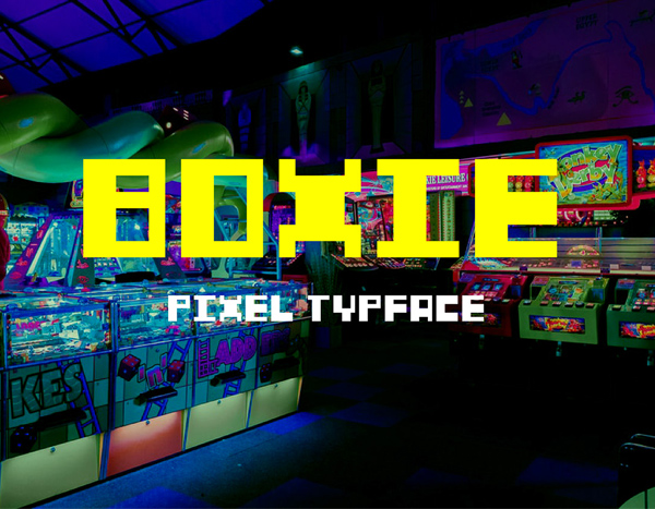 Boxie Free Font