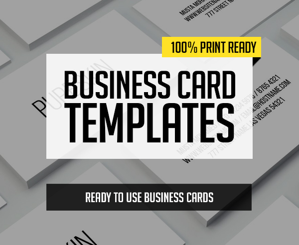 New Business Cards PSD Templates – 30 Print Design