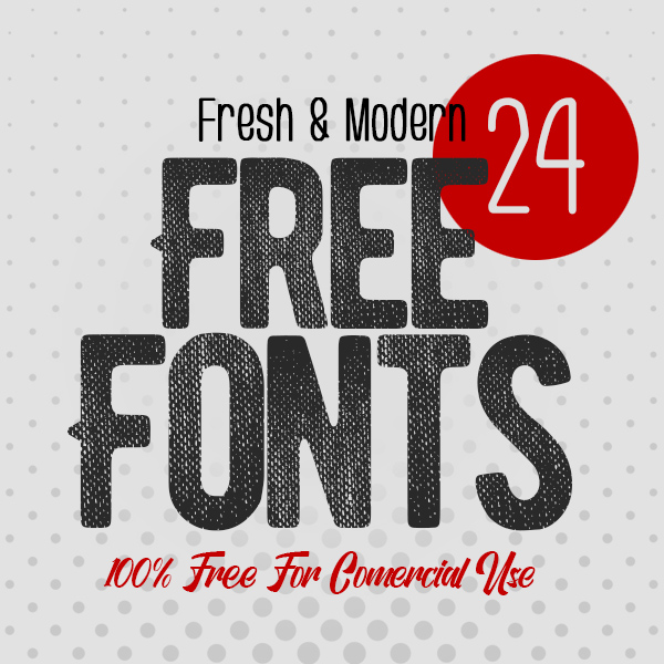 24 Fresh Free Fonts For Graphic Designers 2