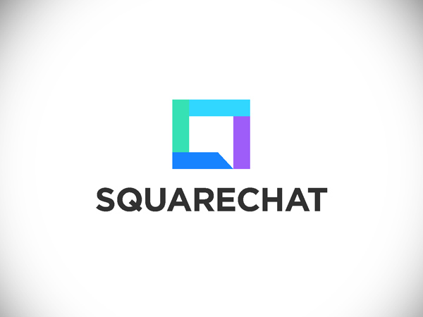 Square chat logo