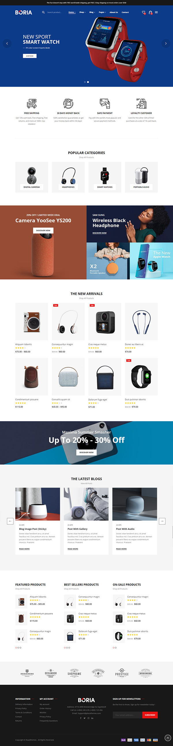Boria - Multipurpose WooCommerce WordPress Theme