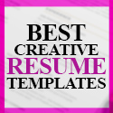 Post thumbnail of 23 Creative Resume Templates with Cover Letters