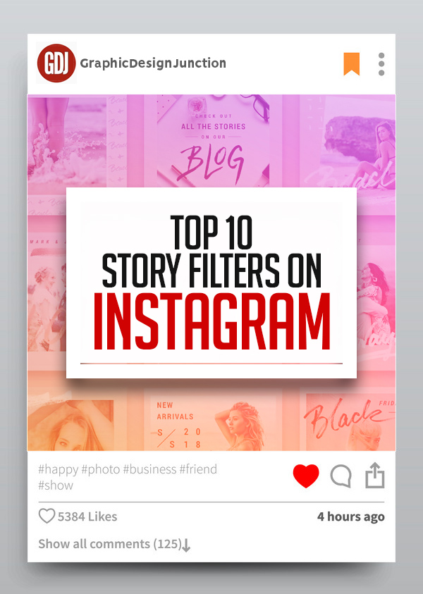 Top 10 Story Filters on Instagram 2