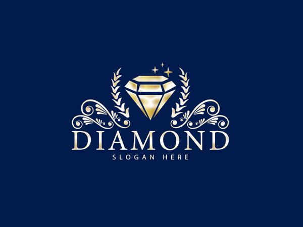 Diamond jewellery logo - Diamond logos by Designer Farsi