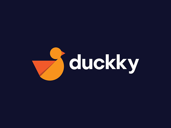 Duckky Logo Design by Ashfuq Hridoy