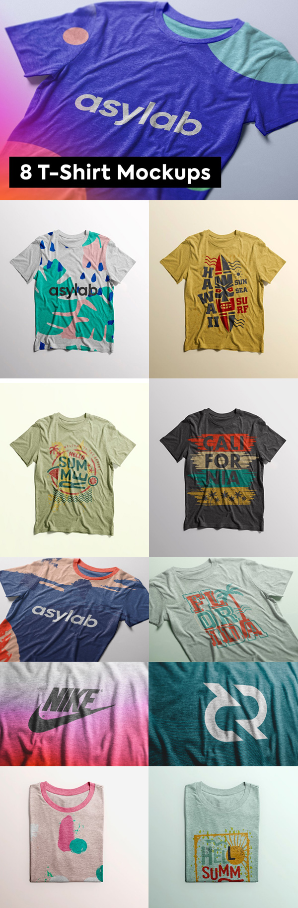 Stylish T-Shirt Mockups