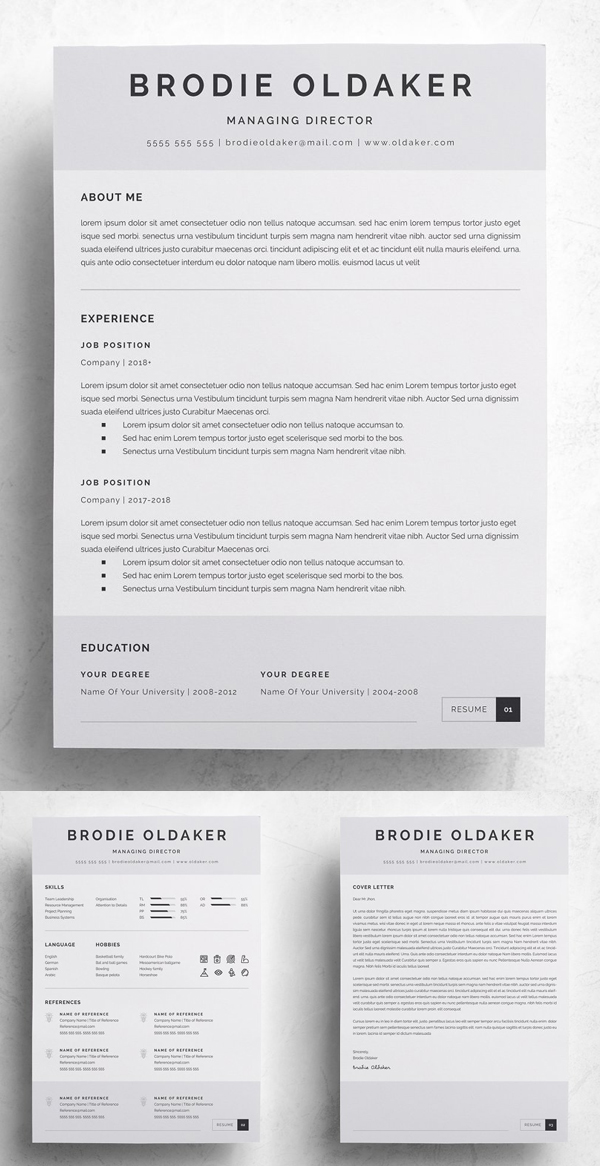 50 Best Resume Templates Of 2020 - 10