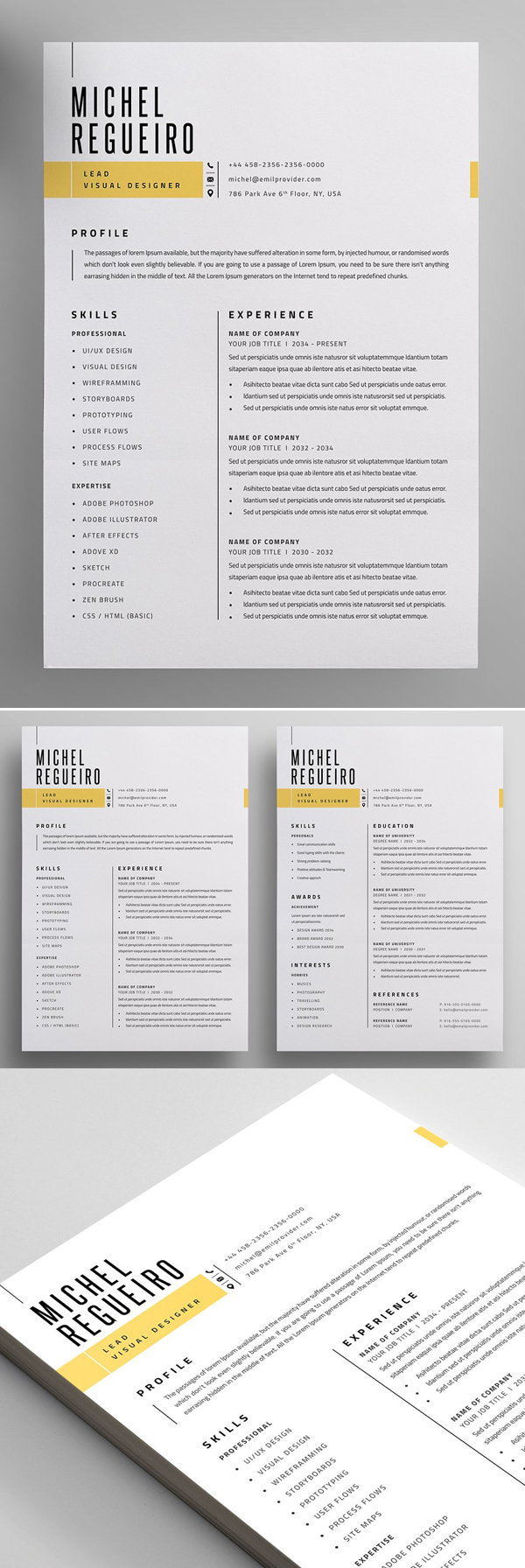 50 Best Resume Templates Of 2020 - 11