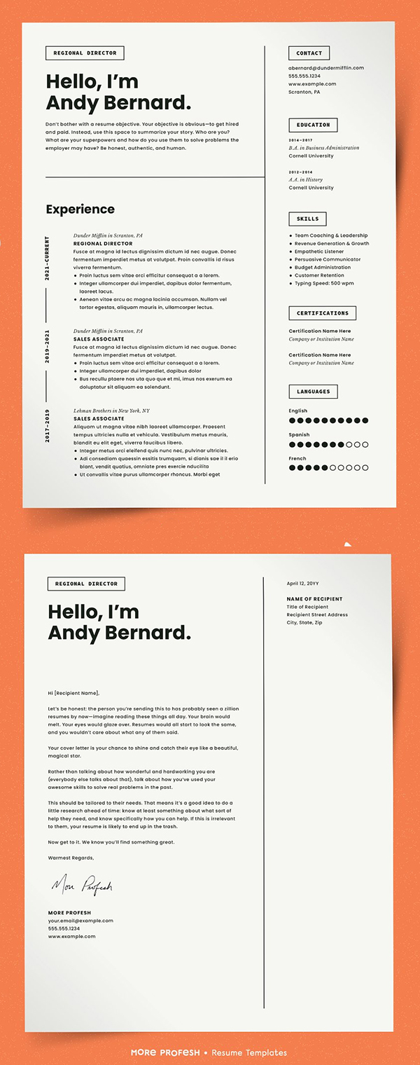 50 Best Resume Templates Of 2020 - 12