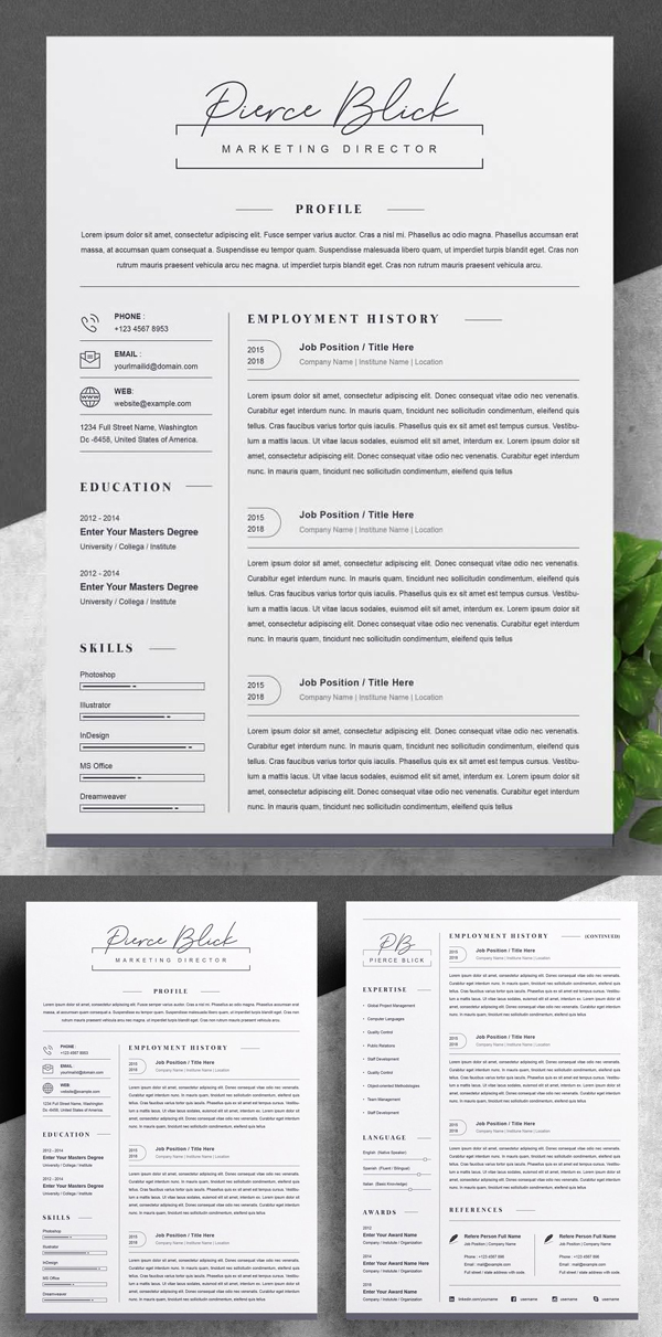 50 Best Resume Templates Of 2020 - 17
