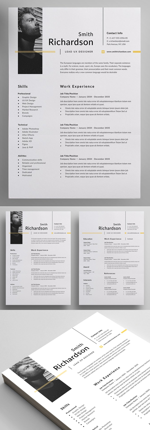 50 Best Resume Templates Of 2020 - 18