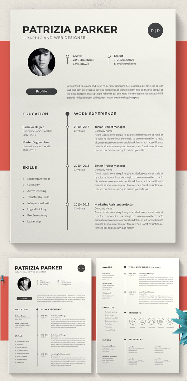 50 Best Resume Templates Of 2020 - 19