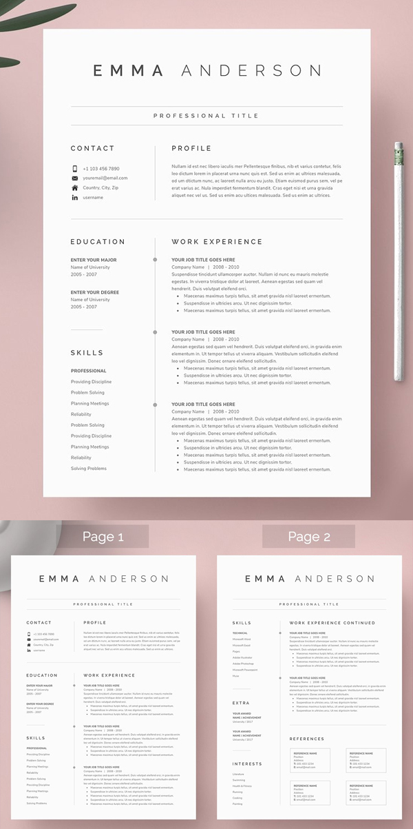 50 Best Resume Templates Of 2020 - 2