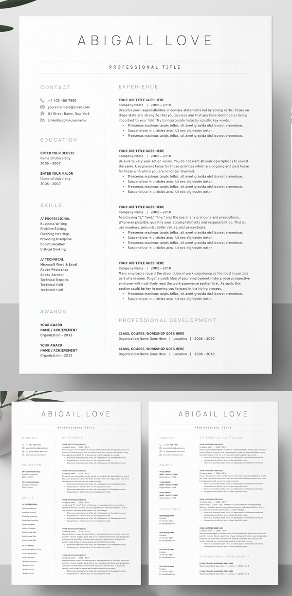 50 Best Resume Templates Of 2020 - 20