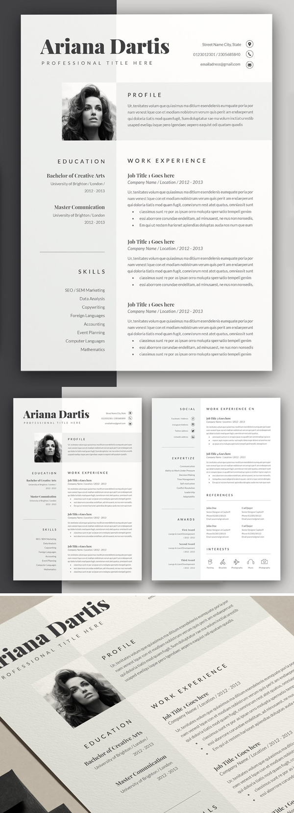 50 Best Resume Templates Of 2020 - 21