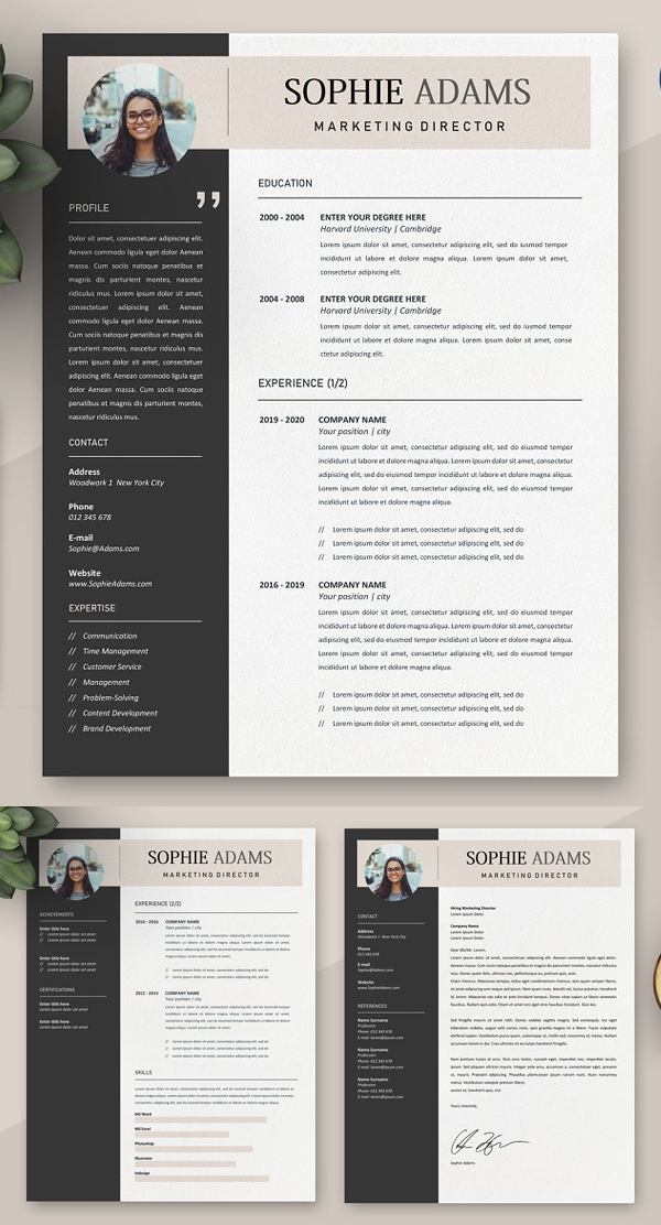 50 Best Resume Templates Of 2020 - 22