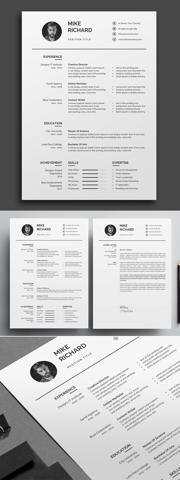 50 Best Resume Templates Of 2020 - 26