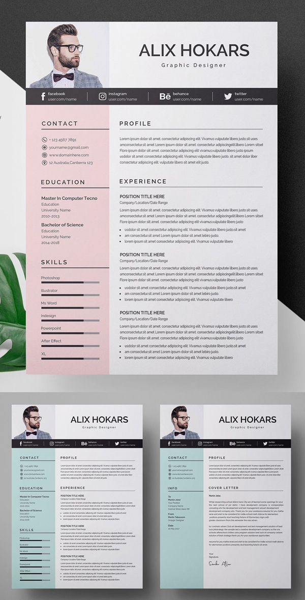 50 Best Resume Templates Of 2020 - 27