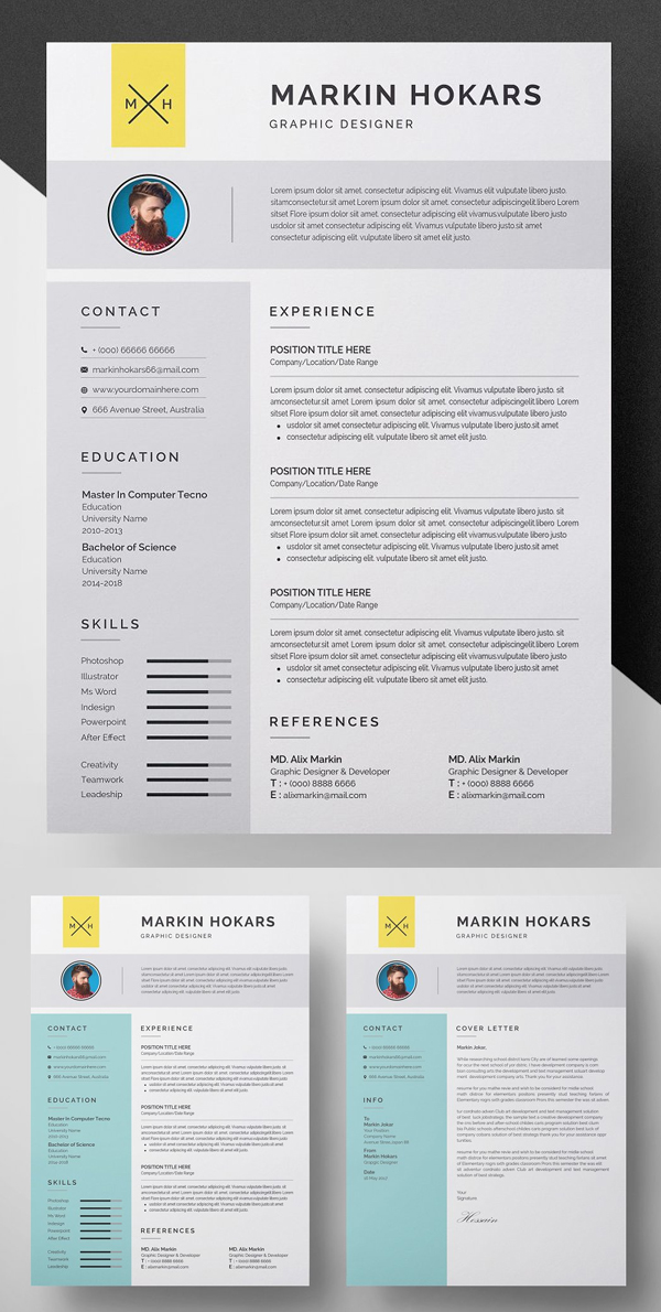 50 Best Resume Templates Of 2020 - 28