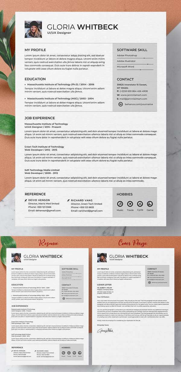50 Best Resume Templates Of 2020 - 29
