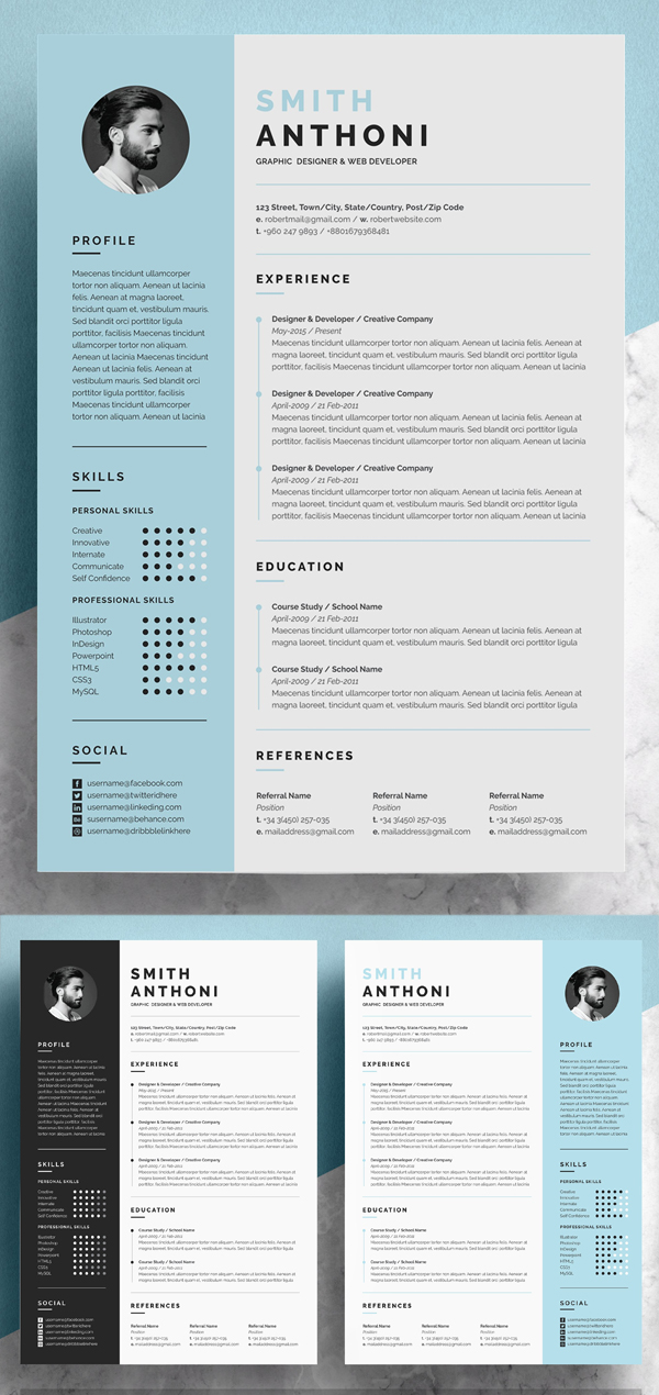 50 Best Resume Templates Of 2020 - 34