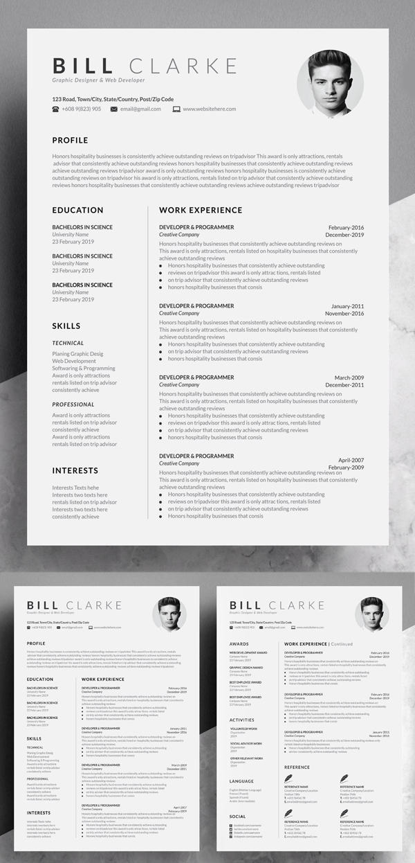 50 Best Resume Templates Of 2020 - 35
