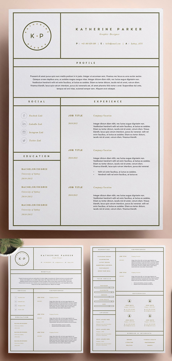 50 Best Resume Templates Of 2020 - 37