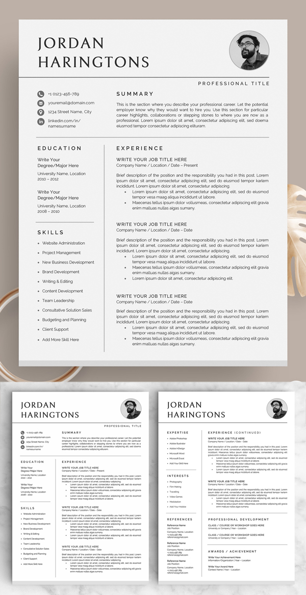 50 Best Resume Templates Of 2020 - 38