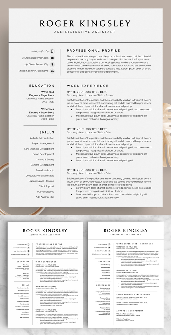50 Best Resume Templates Of 2020 - 39