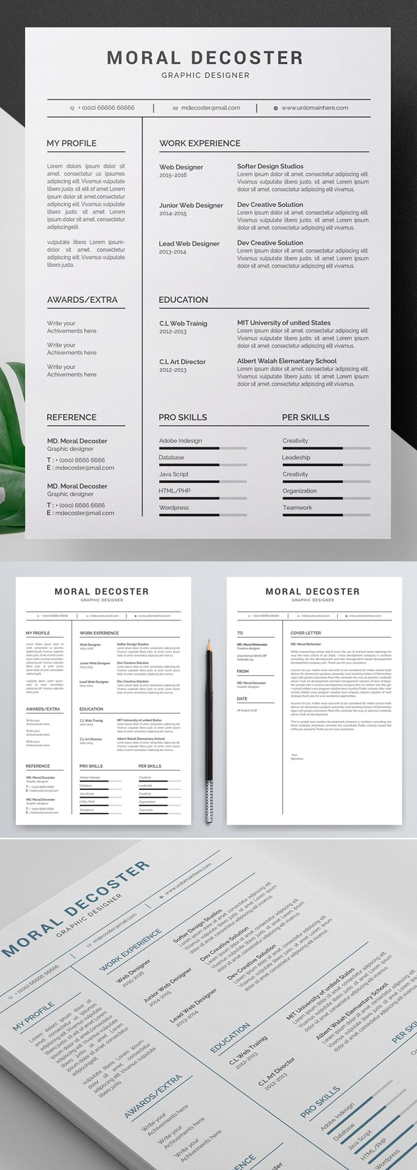 50 Best Resume Templates Of 2020 - 4